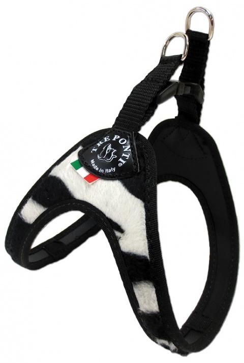 Шлейка - TRE PONTI шлейка для собак, зебра, до 3 kg