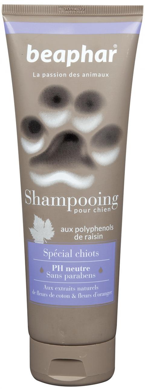 Šampūns kucēniem - Beaphar, SPECIAL CHIOT, īsspalvainiem suņiem, 250 ml