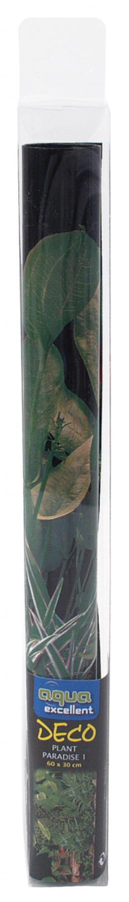 Фон для аквариума - Задний фон - Растения 100*50cm