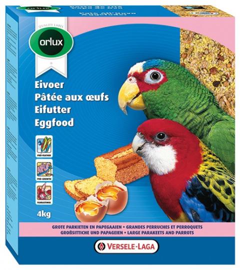 Дополнительный корм для средних попугаев - Versele - Laga Orlux Eggfood dry for Big Parakeets, 800 г title=