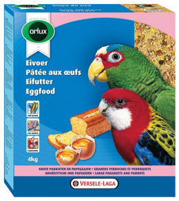Papildbarība vidējiem papagaiļiem - Versele - Laga Orlux Eggfood dry for Big Parakeets, 800 g