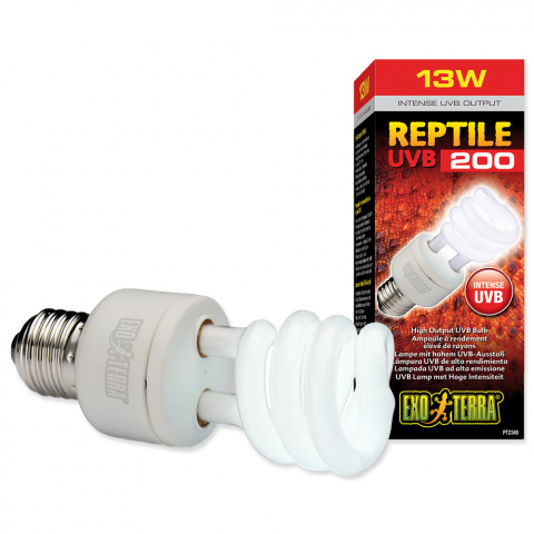 Lampa terārijam - EXO TERRA Reptile UVB200 (13W) title=