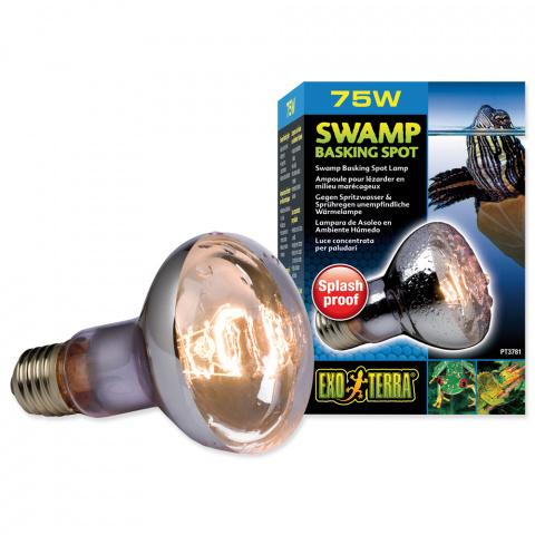 Лампа для террариумов - Exo Terra Swamp Basking Spot, 75W title=