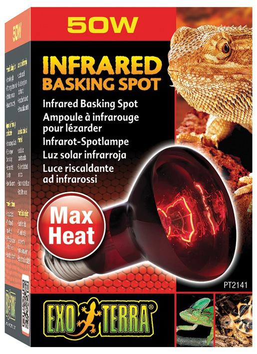 Лампа для террариума - Infrared Heat Glo 50W