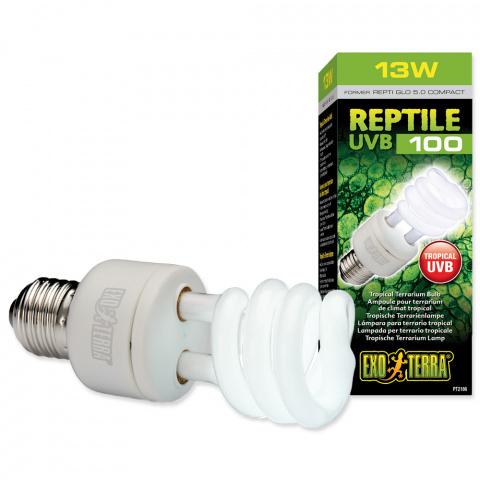 Лампа для террариума - EXO TERRA Reptile UVB100 (13W) title=