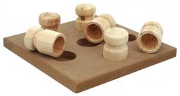 Игрушка для собак - Dog Fantasy Interactive Wooden toy, 18*18*5 cm