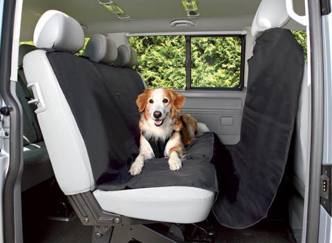 Покрывало для автомобильных сидений - Car Seat Cover, 1.45*2.15m, черный