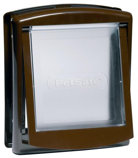 Дверца для животных - Staywell, PetSafe, Original Small Pet Door, brown, 23,6 x 19,8 см  title=