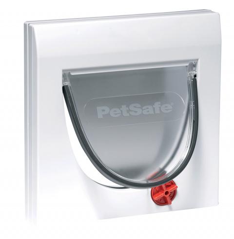 Durvis dzīvniekiem – Staywell, PetSafe, Cat Flap 919, white, 22 cm x 22 cm title=