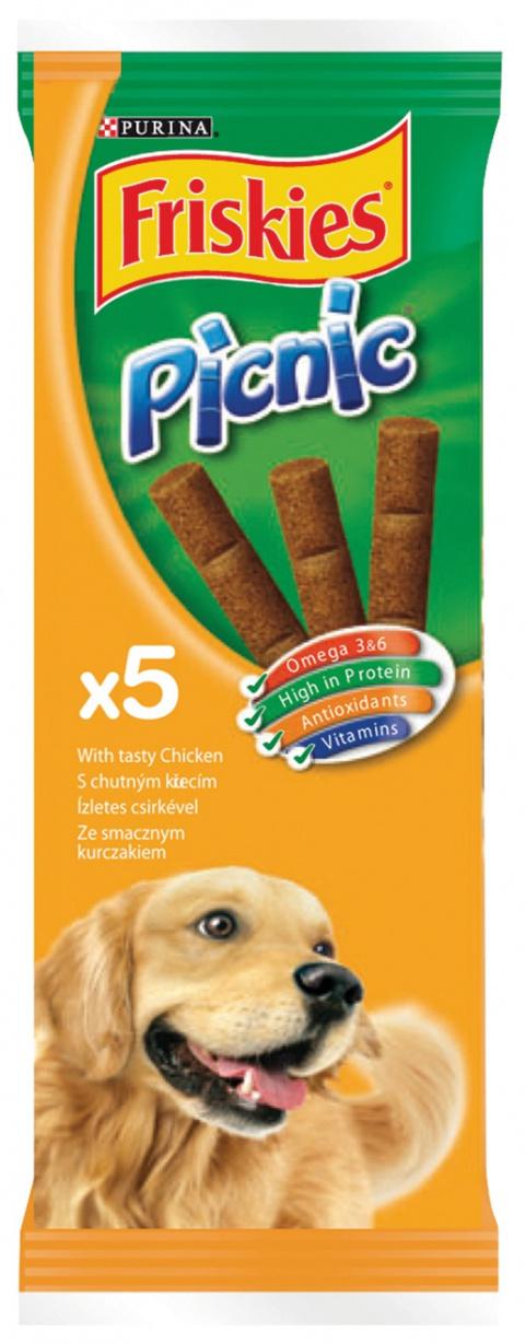 Лакомство для собак - Friskies Picnic with Chicken, 42 гр title=