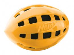 Rotaļlieta suņiem - NERF TPR Crunchable Squeak Football, 15 cm