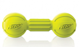 Rotaļlieta suņiem - NERF Barbell Chew zaļa, 19 cm