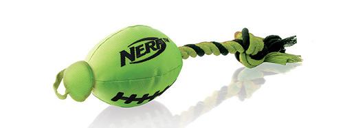 Rotaļlieta suņiem - NERF Trackshot Football Launcher, 25 cm