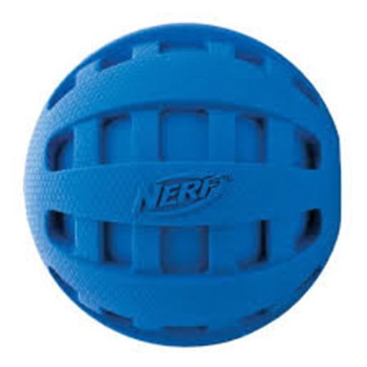 Rotaļlieta suņiem - NERF Spiral Squeak Football, 12 cm