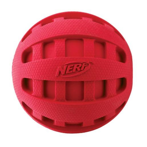 Игрушка для собак - NERF Spiral Squeak Footмяч, 12 cm
