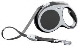 Inerces pavada suņiem - FLEXI Vario Tape L 5m, krāsa - antracīts