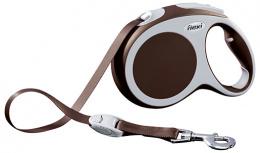 Inerces pavada suņiem - FLEXI Vario Tape L 5m, krāsa - brūna