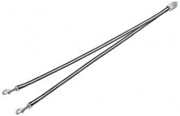 Аксессуар поводка-рулетки для собак - FLEXI Vario Duo Belt, цвет - антрацит