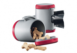 Аксессуар поводка-рулетки для собак - Flexi Vario Multi box, красный