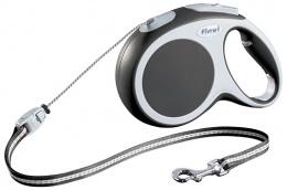 Поводок-рулетка для собак - FLEXI Vario Cord M 8м, цвет - антрацит