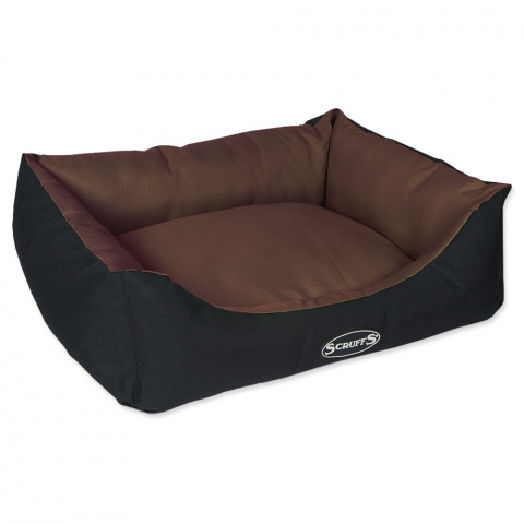 Спальное место для собак – Scruffs Expedition Box Bed (M), 60 x 50 см, Chocolate title=