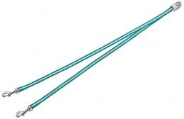 Aksesuārs inerces pavadām suņiem - FLEXI Vario Duo Belt, krāsa - zilzaļa