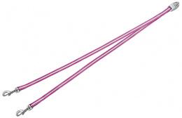 Aksesuārs inerces pavadām suņiem - FLEXI Vario Duo Belt, krāsa - rozā