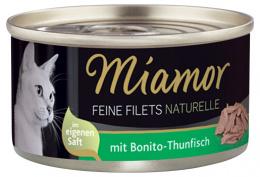 Консервы для кошек - Miamor Filet Naturelle Bonito-Tuna, 80гр.