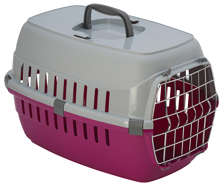Транспортировочная переноска для животных - DF Carrier, 51*31(h)*34cm, красный