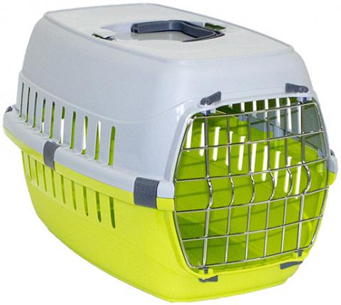Transportēšanas bokss dzīvniekiem - DF Carrier, 51*31(h)*34cm, zaļa title=
