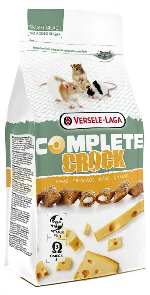Лакомство для грызунов – Versele-Laga Crock Complete Cheese, 50 г title=