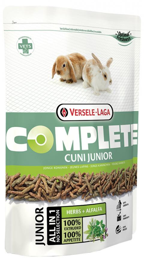 Корм для кроликов - VERSELE-LAGA Complete Cuni Junior, 500 г