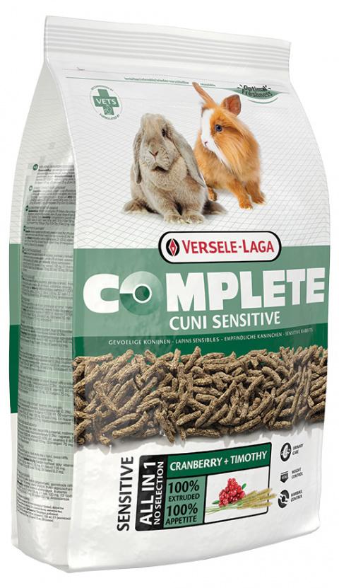 Корм для карликовых кроликов - VERSELE-LAGA Complete Cuni Adult sensitive, 1.75 кг title=