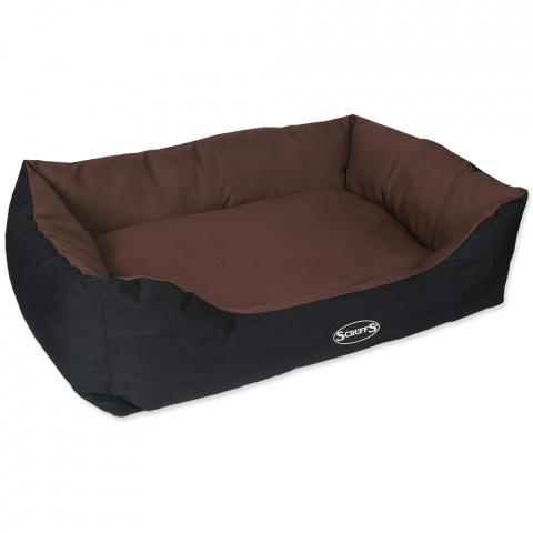 Спальное место для собак – Scruffs Expedition Box Bed (XL), 90 x 70 см, Chocolate title=
