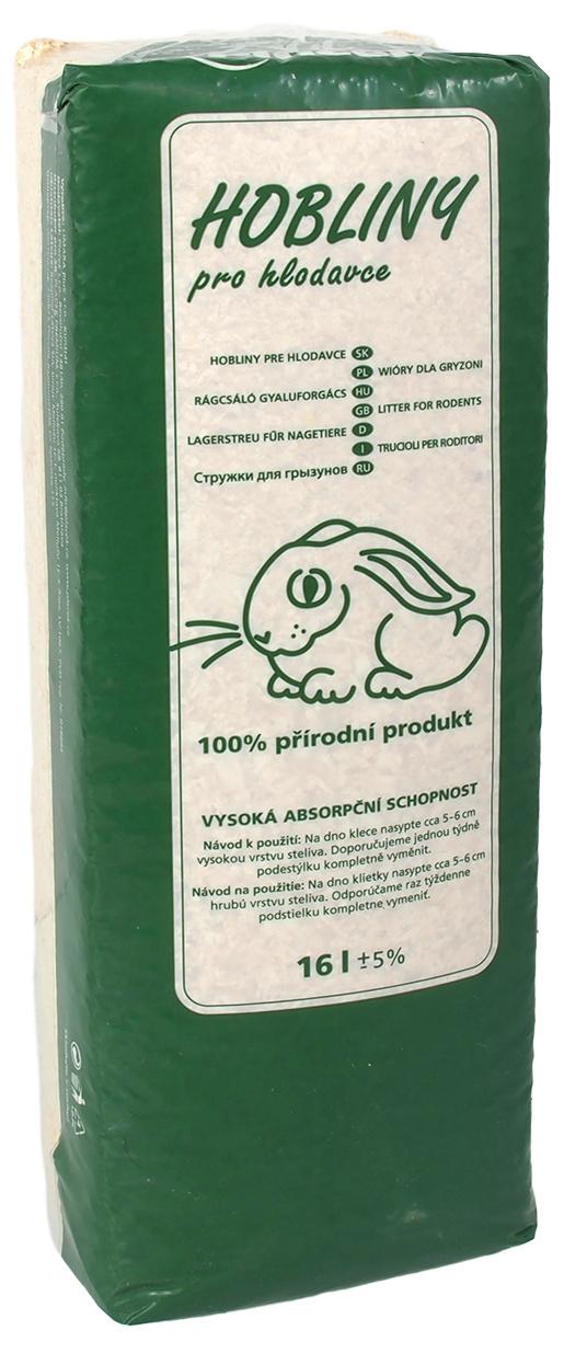 Skaidu pakaiši grauzējiem - Zoo Box Hobliny LIMARA (16l)
