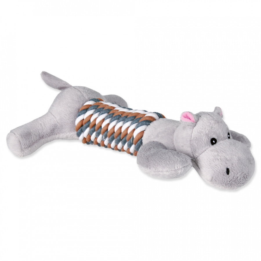 Rotaļlieta suņiem – TRIXIE Assortment Toy Figures with Rope, Plush, 32 cm