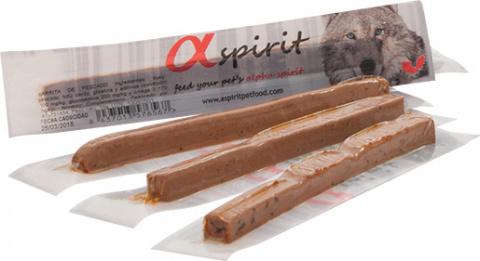 Gardums suņiem - ALPHA Spirit Pet Food Ristra Individual Sticks Liver, N30x10g