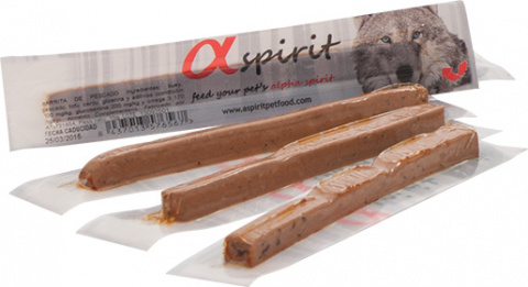 Лакомство для собак - ALPHA Spirit Pet Food Ristra Individual Sticks Liver, N30x10g title=
