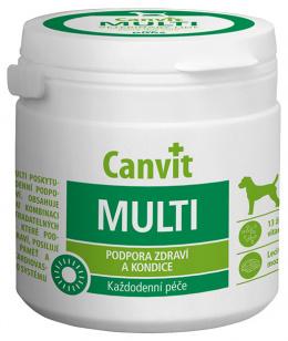 Vitamīni suņiem - Canvit Multi tablets N100, 100 g