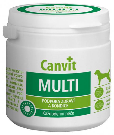 Витамины для собак - Canvit Multi tablets N100, 100 г title=