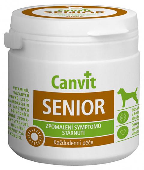 Vitamīni suņiem - Canvit Senior N100, 100 g title=