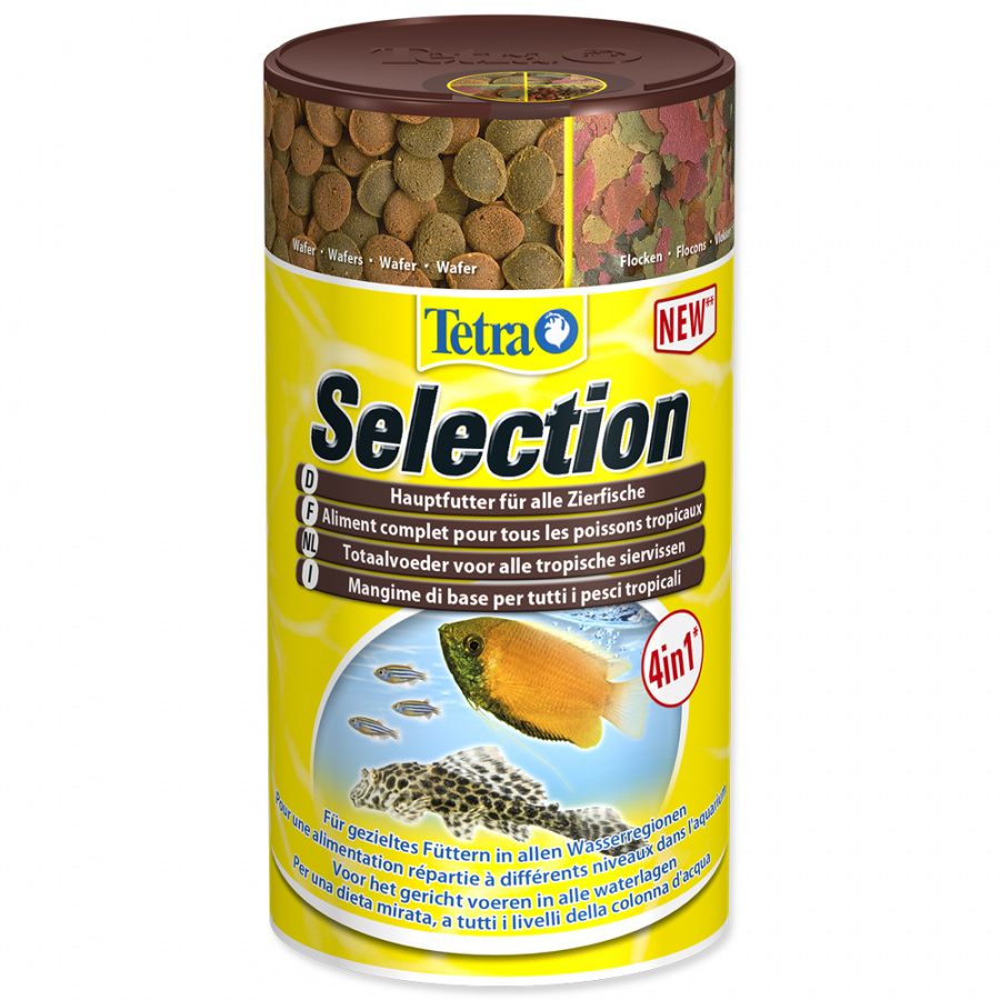 Barība zivīm - Tetra Selection 250 ml