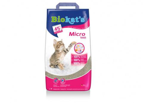 Smiltis kaķu tualetei - Biokat's Micro Fresh, 7 kg title=