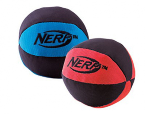 Игрушка для собак - NERF Trackshot Squeaker мяч, 11 cm title=