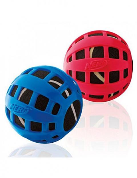 Rotaļlieta suņiem - NERF TPR Float Teniss Ball, 10 cm title=