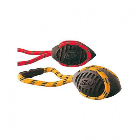 Игрушка для собак - NERF Twister Tug, 26 cm title=