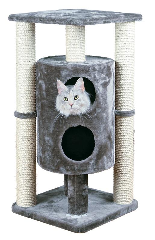 Домик для кошек - TRIXIE Vigo Scratching Post, 94 см, цвет - серый