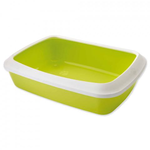 Туалет для кошек – Savic Iriz 50 + rim, lemon green, 50 x 37 x 14 см title=