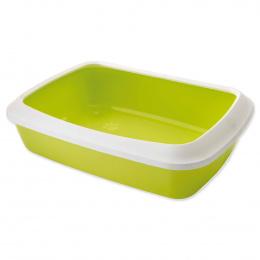 Tualete kaķiem - Savic Iriz 50 + rim, lemon green