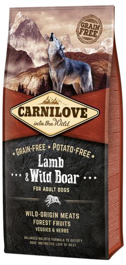 Корм для собак - CARNILOVE Lamb & Wild Boar for Adult, 12кг